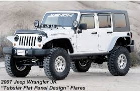 new 4 door jeep wrangler unlimiteds jeep wrangler tubular design fender flares