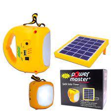 Powermaster Şarjlı Solar Aydınlatma Seti Tek Panelli (KUTUSUZ) Fiyatı