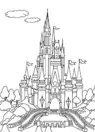 Collection of coloring pages of castles. Disney Castle Coloring Pages Castle Coloring Page Princess Coloring Pages Disney Castle Drawing