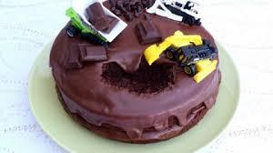 Easy Digger Cake Idea