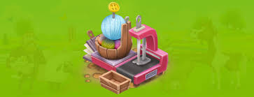 Hay Day Sewing Machine