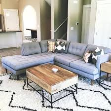 best coffee tables for sectionals sofa table best modern what size coffee table for sectional sofa