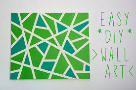 >ink adventure easy canvas wall art project easy canvas wall art project