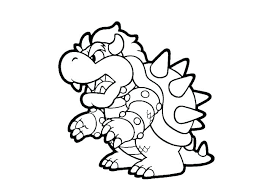 Mario Kart Printable Coloring Pages 7 Colouring Free Print Download