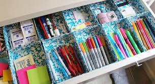image of office desk drawer organizer