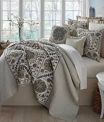 Quilts & Coverlets | Dillards & Villa by Noble Excellence Natalie Embroidered & Checked Quilt Mini Set Adamdwight.com
