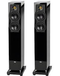 <b>Напольная акустика Elac FS</b> 247.3 High Gloss Black: цена ...