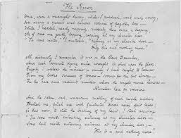 edgar allan poe using primary sources from the library of  the raven facsimile of a manuscript