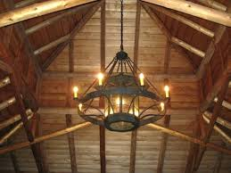 rustic chandelier modern chandeliers bedroom lighting light exciting farmhouse white wall wooden