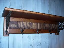 Black Coat Rack With Shelf Furniture Wall Coat Rack With Shelf And Black Hook Hanging On 88