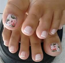 Spring Toe Nails Art Designs Ideas