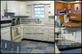 can you paint countertops white how to paint oak cabinets paint laminate countertops glossy white