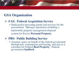 Gsa Fas Organization Chart Ppt Welcome To The Great Lakes Region Chicago Il Personal