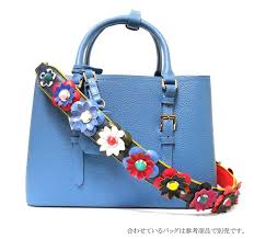trend icon イウハ iuha individuality group genuine leather flower flower bag strap strap you strap you studs rakuten global market