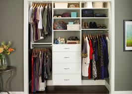 but with the right custom reach in closet design any small closet can accommodate a