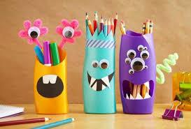 DIY pencil holder ideas for your home desk decoration (27)