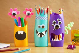 diy pencil holder ideas for your home desk decoration 27
