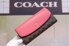 Coach multi-functional women s envelope purse cow leather