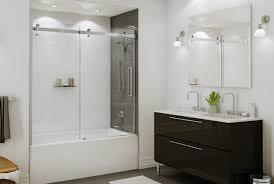 bathtub adorable tub shower doors with modern tub shower doors frameless sliding tub door 56 60