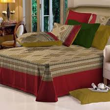 cotton bed sheets.  Bed King Size Cotton Bed Sheet With Two Pillow Covers On Sheets