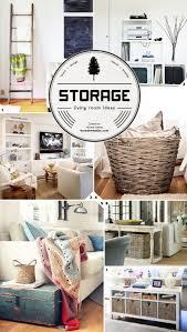 living room blanket storage ideas