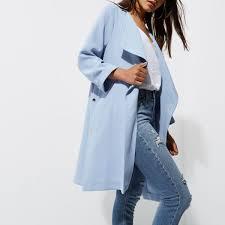 Light Blue Duster Coat Petite Light Blue Duster Coat