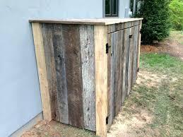 storage shed garbage can enclosure outdoor garbage can storage build outdoor wooden garbage storage bin garbage