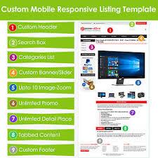 Listing Template Custom Ebay Listing Template Html Professional Mobile Responsive