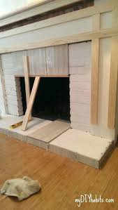 how to build brick fireplace how to create a fireplace surround build a brick fireplace indoors