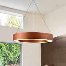 decorative antique golden modern led lights halo ring led lights acrylic lampshade 15 75 19 69