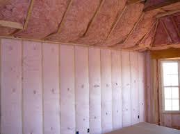 bibs blown fiberglass wall system