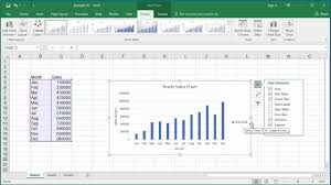How To Insert Chart Title How To Change Elements Of A Chart Like Title Axis Titles Legend Etc In Excel 2016