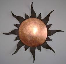 adorning metal copper wall art
