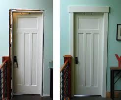 installing door trim craftsman door trim installing door trim this old house installing door trim