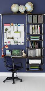 modular shelving and desk wall mounted system