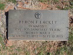 Byron Freeman Lackey (1892-1953) - Find A Grave Memorial