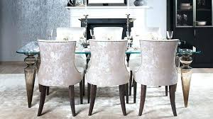 upholstered dining room chairs with arms. Cushioned Dining Room Chairs Designs With Upholstered Arms Amazing Best Restoration