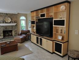 custom cabinets tv.  Cabinets Custom Cabinets  Entertainment Center Media TV  Contemporaryfamilyroom And Tv M