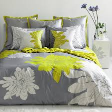 blissliving home ashley citron 100 cotton reversible duvet cover set