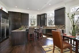 kitchen ideas black cabinets. Image Of: Cute Kitchen Ideas With Dark Hardwood Floors Black Cabinets E