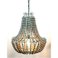 wood bead chandelier white bead chandelier wondrous large wood beaded grey stained with wire round hanging