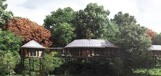 Chewton Glen In Hampshireu0027s New Forest Unveils New £7m Treehouse Treehouse Hotel Hampshire