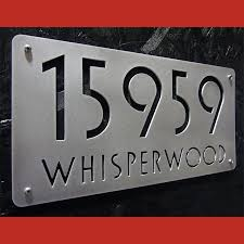 home address plaques. House Address Plaques Decorative Modern Numbers Home Decor Inside Remodel 1 . E