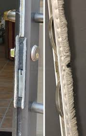 front door weather strippingweatherstripping for our Kawneer front door  SWISCOcom