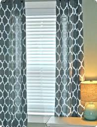 geometric blackout curtains herringbone