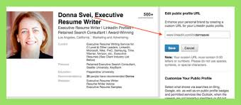 how to customize your linkedin profile url avidcareerist set up a personal aka vanity url for your linkedin profile