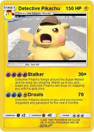 Pokémon Detective Pikachu 4 4 Stalker My Pokemon Card