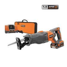 ridgid tools saw. ridgid x4 18-volt hyper lithium-ion cordless reciprocating saw kit ridgid tools