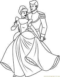 Cinderella Coloring Pages Pdf Free Coloring Pages Globalchin Coloring