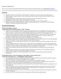 Entry Level Desktop Support Resume Resume For Your Job Application